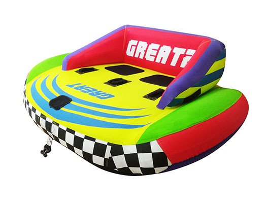 Great 2 Inflatable Fun Tube for Boats