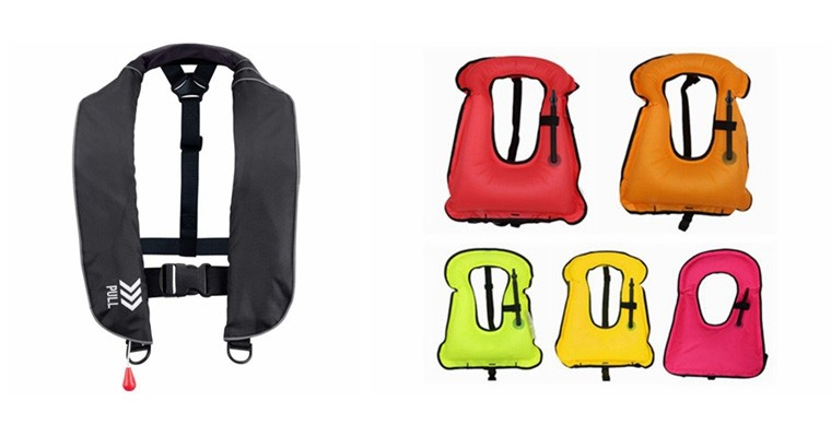 iOCEAN Inflatable Life Vests Pass the CE Approval